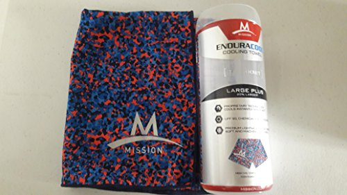 MISSION EnduraCool Cooling Towel (Speck) by MISSION (Image #1)