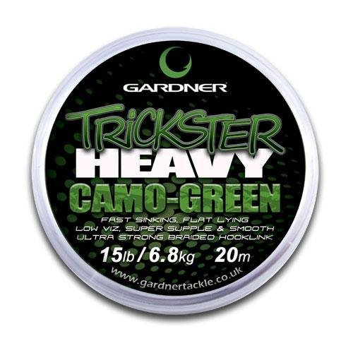 【オープニング大セール】 GARDNER TRICKSTER CAMO 25lb GARDNER (11.3kg) - Camo CAMO Green Green - 20m B009E656MS, Clapper:1e33d12b --- a0267596.xsph.ru