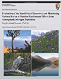 Evaluation of the Sensitivity of Inventory and Monitoring National Parks to Nutrient Enrichment Effects from Atmospheric Nitrogen Deposition: Pacific Island Network (PACN), T. Sullivan and T. McDonnell, 1492714208