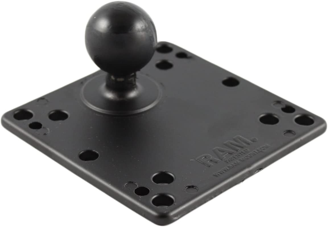 "RAM Mount RAM-246U 4.75/"" Square VESA Base with 4 x 100mm and 4 x 75mm Holes"