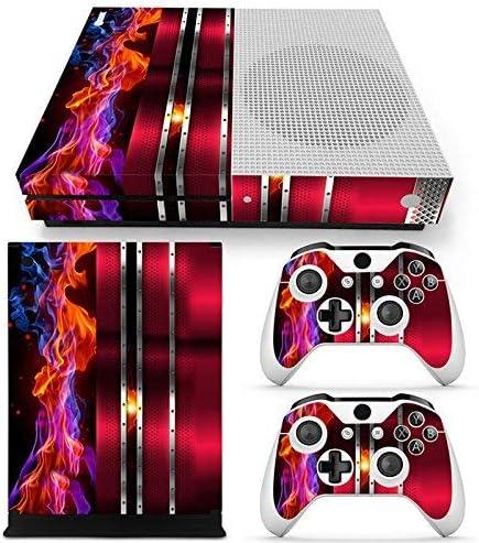 46 North Design Xbox One S Pegatinas De La Consola Red Cherry Fire ...