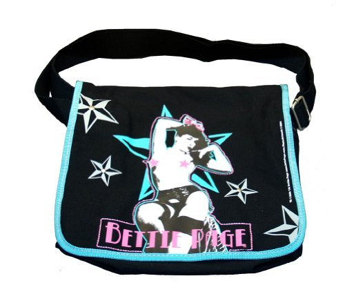 bag66-bettie-page-playboy-pin-up-model-canvas-messenger-bag