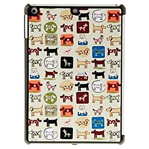 Puppies Pattern PC Hard Case for iPad Air