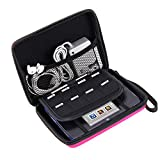 AKWOX Carrying Case for Nintendo 2DS with 8 Game