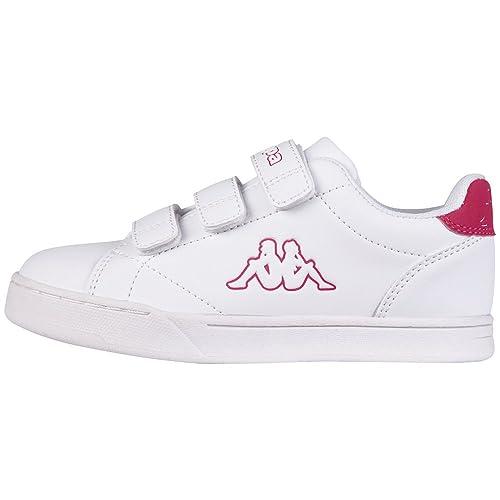 Chaussures Blanches Avec Des Enfants Velcro Kappa EcQWB8JSFP