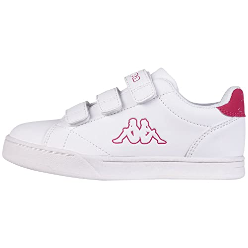 Zapatos blancos con velcro Kappa infantiles Hol99