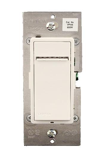Leviton VPI061LX Vizia Digital 600W Incandescent Dimmer Single