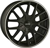Touren TR60 16 Black Wheel / Rim 4x4.25 & 5x4.25 with a 42mm Offset and a 72.62 Hub Bore. Partnumber 3260-6720MB