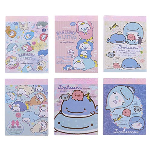 Kawaii Whale Sticky Memo Pad Sticky Notes Paper Craft Bookmark Stationery School Office Supplies (Pad Stationery Memo)