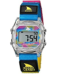 Unisex 102245 Shark Leash Clear Digital Japanese-Quartz Velcro Watch