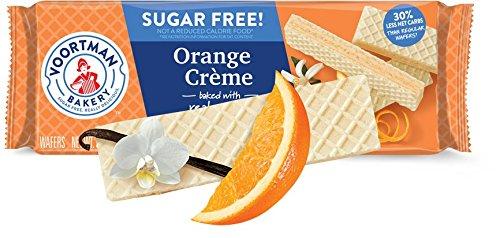 - Voortman Bakery Sugar Free Wafer Cookies (Sugar Free Orange Cream)