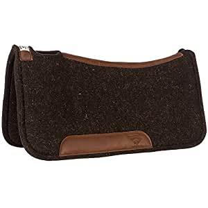 Diamond Wool Contour Felt Ranch Pad 30X30