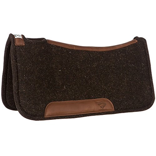 Diamond Wool Contour Felt Ranch Pad 32X32