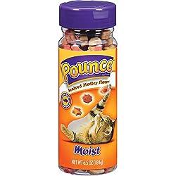 Pounce Moist Seafood Medley Flavor Cat Treats, 6.5 oz