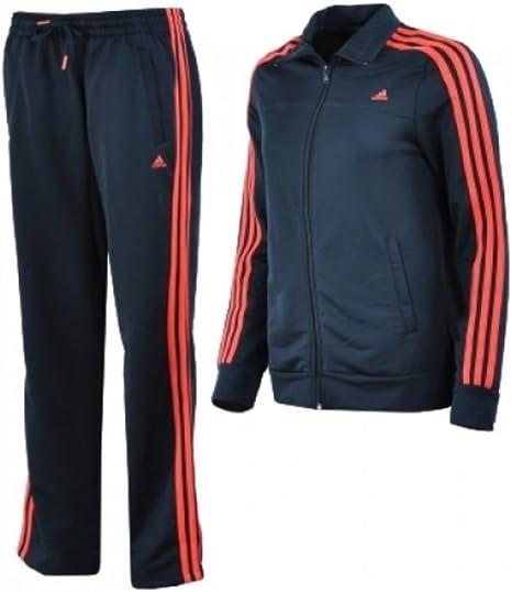 Adidas chándal de entrenamiento para mujer - azul, XL, poliéster ...