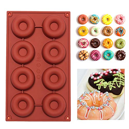 Chocolate Cookies - Silicone Donuts Mold Cake Chocolate Cook