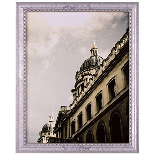 Craig Frames 314SI, Ornate Silver Picture Frame, 10 x 13 (Antique Silver Document Frames)