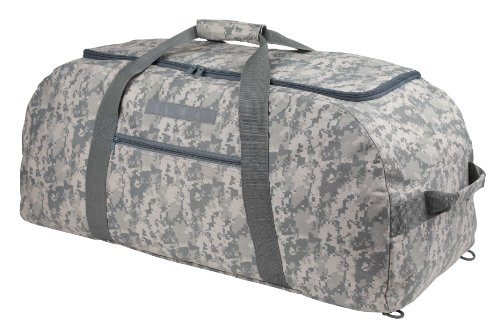 31″ ACU Duffel Bag Extra Large Duffel Bag and Backpack in Camouflage Color