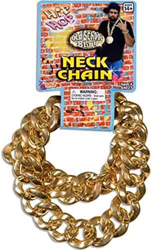 80'S Big Links Neck Chain Gold