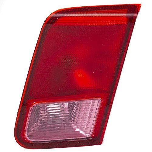 CarPartsDepot 01-02 Honda Civic 4DR Right Tail Lamp HO2801137 Inner Reverse/Back Up Lens Hsg (Inner Tail Light Lamp)
