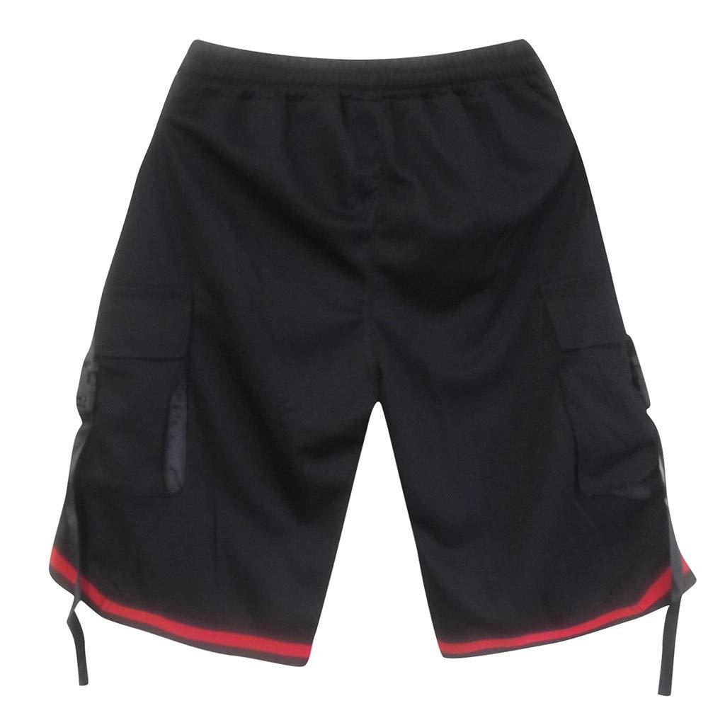 LISTHA Short Pants Mens Cargo Shorts Trunks Beach Surfing Running Sport Pocket