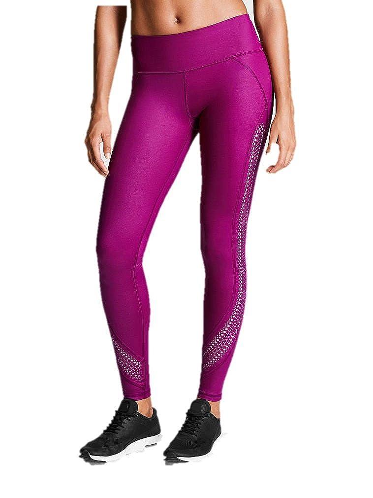 0402d9cc235b07 Amazon.com: Victoria's Secret Sport Knockout Tight Pants Pink Plum Laser  Cut Out Gym Large New: Clothing