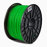 BuMat PLA Filament 1.75mm 1kg 2.2-Pound Printing Material Supply Spool for 3D Printer, Translucent green