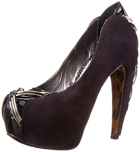 Bettie Page Womens Bp575-cheryl Dress Pump Black