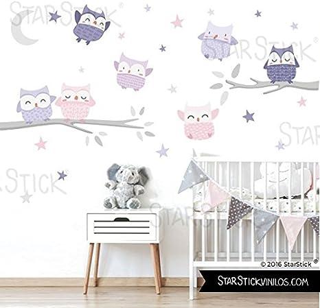 Peque/ño B/úhos rosa palo StarStick T1 Vinilo beb/é y ni/ñas