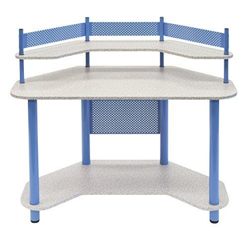 Calico Designs 55120 Study Corner Desk Blue [並行輸入品] B0751CXX5F