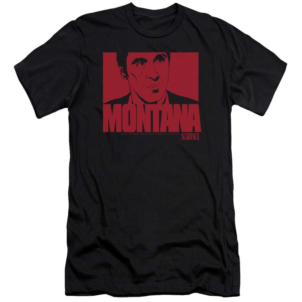 S Montana Face Premium T Shirt 8894