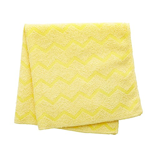 l HYGEN Bathroom Microfiber Cloth, 16-inch, Yellow (Quick Connect Squeegee Frame)