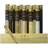 "Gourmet Sea Salt Sampler Collection No. 2 - A collection of 11 Salts - Taste the world of salts ""The Salt Lab #2"""