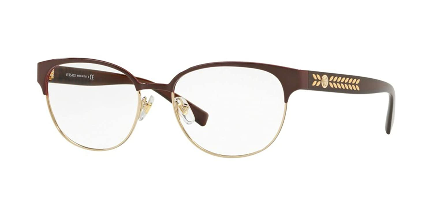 Dark VE1256-1435-53 Versace VE1256 Eyeglass Frames 1435-53