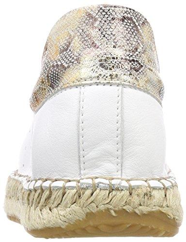 Scarpe Donna Da 01 Basse 130419 Ginnastica Buffalo blanco Bianco Leather qwFx6nUCWg