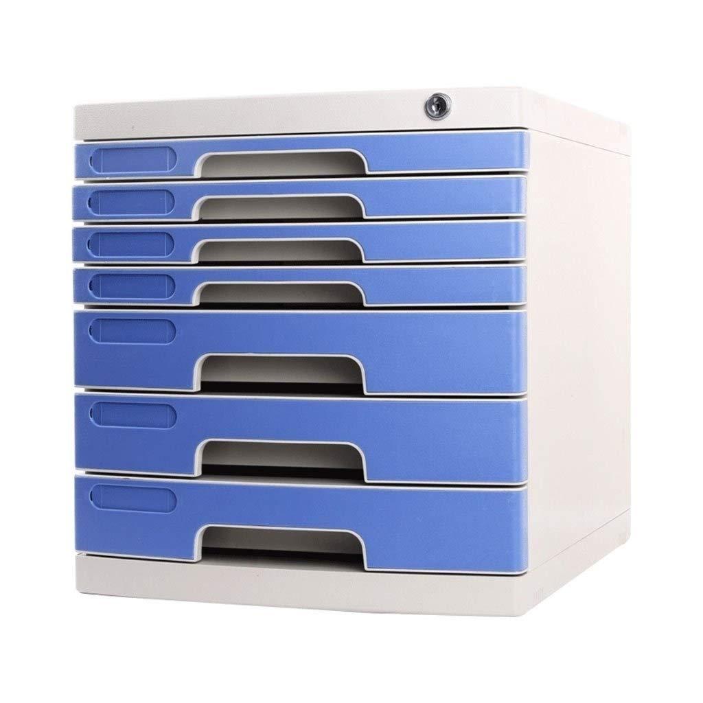 File Cabinet 7 Drawer Lockable File Storage Cabinet