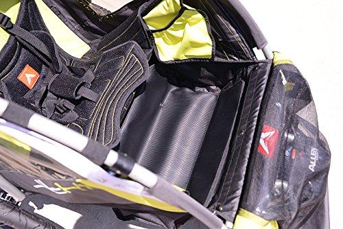 Allen Sports JTX-1 Trailer/Swivel Wheel Jogger, Green by Allen Sports (Image #6)