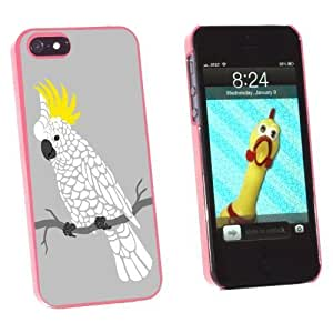 Graphics and More Cockatoo - Parrot Bird Snap-On Hard Protective Case for Apple iPhone 6 4.7 - Non-Retail Packaging - Pink WANGJING JINDA