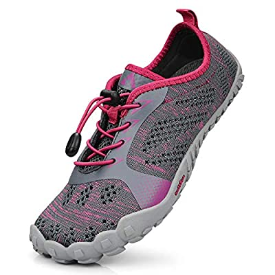 Troadlop Women's Hiking Shoes Outdoor Athletic Breathable Quick-Drying Barefoot Running Shoes