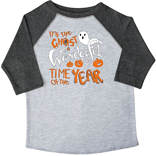 inktastic It's The Ghost Toddler T-Shirt 3T 3/4 Sleeve Heather Smoke (Top 3 Halloween Songs)