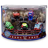 Monster Truck Mater 5 Pc. Deluxe Figure Set: Disney Pixar Cars Toon Series