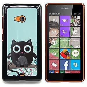 Stuss Case / Funda Carcasa protectora - Criatura linda del gato - Nokia Lumia 540