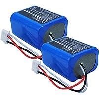 2x Exell 7.2V Battery Fits iRobot 5200B Braava 380 380T Mint Plus 5200 5200C