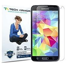 Galaxy S5 Mini Screen Protector, Tech Armor High Definition HD-Clear Samsung Galaxy S5 Mini Film Screen Protector [3-Pack]