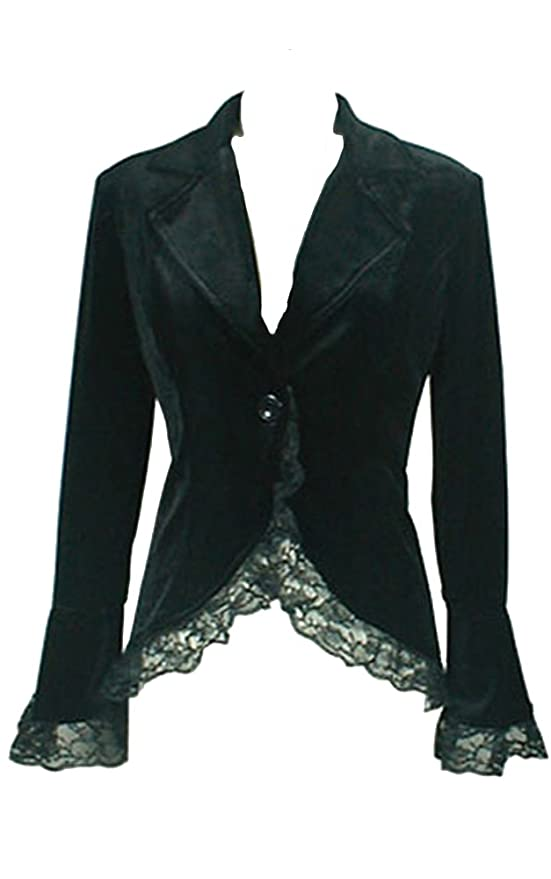 Steampunk Jacket | Steampunk Coat, Overcoat, Cape Chic Star Black Gothic Corset Jacket $59.99 AT vintagedancer.com