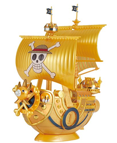 Bandai Hobby Grand Ship Collection Thousand-Sunny Commemorative Color Ver. One Piece Film Gold Building Kit (Thousand Sunny Model Kit)