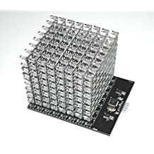 8X8X8 RGB LED Cube Shield