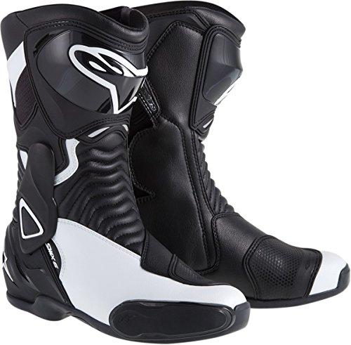 Alpinestars Smx 4 Boot (ALPINESTARS Boot 4W Smx-6 Black / White 40 US Size 6.5)