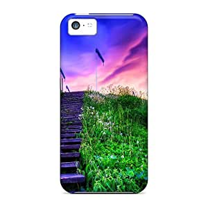 Snap-on Case Designed For Iphone 5c- Stairs To The Sky