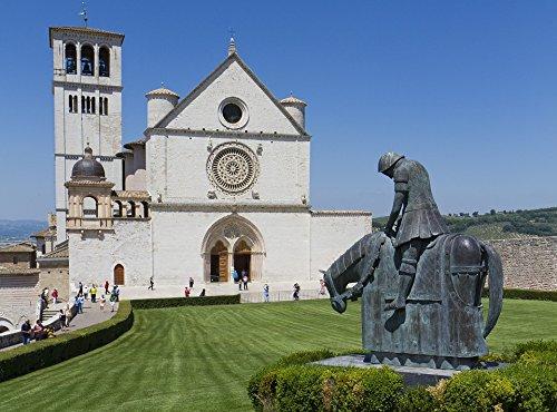 Home Comforts LAMINATED POSTER Church Knight Basil San Francesco D'assisi Assisi Poster 24x36 Decal - Francesco Stand